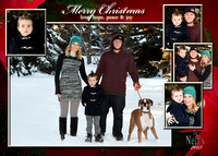 card 5x7 #4 with Merry Christmas